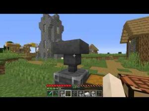 Minecraft Maden Eritme Ocağı