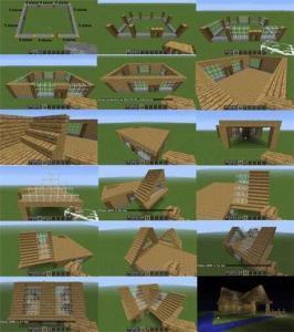 Minecraft Daire Yapımı