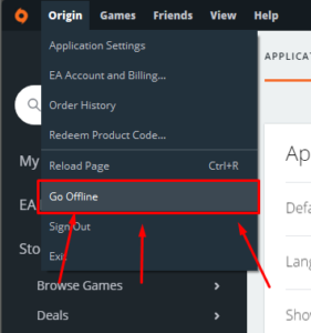 Origin Offline